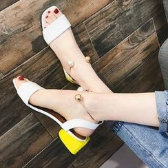 QQ Trend - 踝扣帶涼鞋