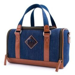 Plume Moon - Denim DSLR Camera Bag