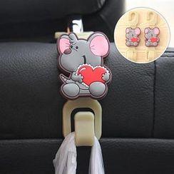 Yulu - Mouse Print Car Hook