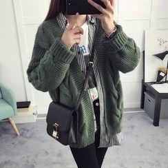 efolin - Cable Knit Cardigan