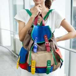 TAIPEI STAR - Color-Block Backpack
