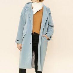 Heynew - Hooded Long Coat