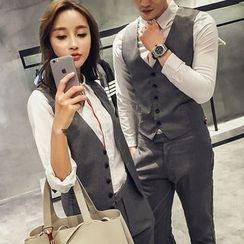 FULLHOPE - Couple Matching Vest