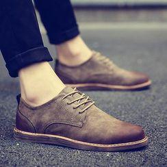 Chariot - 仿麂皮牛津鞋