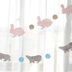 KIITOS - 動物裝飾旗布