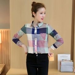 Sienne - Color Block Shirt