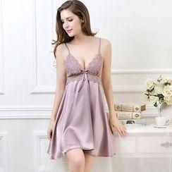 Sophine - Satin Nightdress