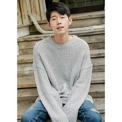JOGUNSHOP - Oversized Rib-Knit Sweater
