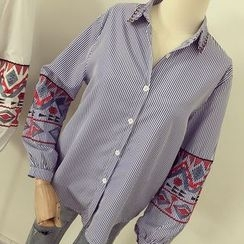 Honeydew - 刺绣衬衣