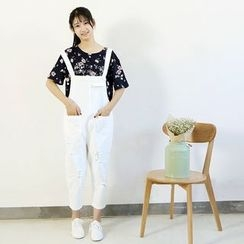 Ranche - Cropped Jumper Pants