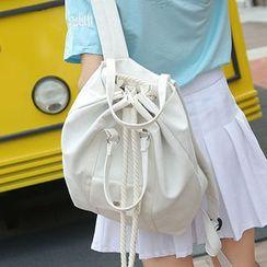 Clair Fashion - 韩版休閒束口手提包后背包