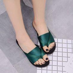 Weiya - Plain Flip-Flops