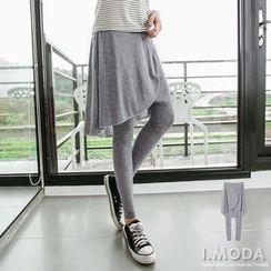 OrangeBear - Inset Skirt Leggings