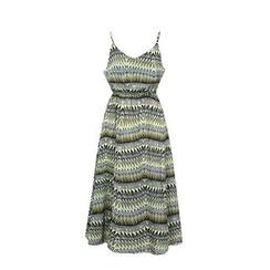 Flore - 图案雪纺沙滩裙