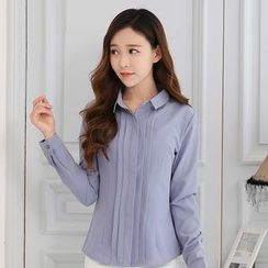Eferu - Pleated Blouse