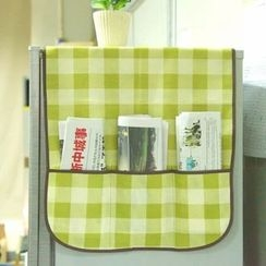 Desu - 格紋口袋防塵罩