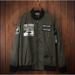 Bigboy - Letter Bomber Jacket