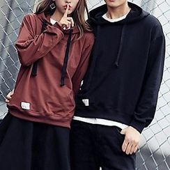 Fashion Street - Couple Matching Plain Hoodie