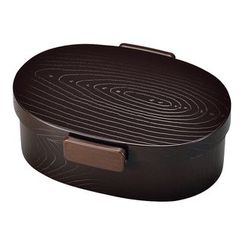 Hakoya - Hakoya Tight Mokume Oval Lunch Box Large (Urumi)