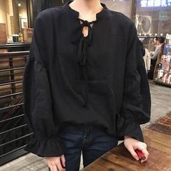 Dute - 泡泡袖襯衫