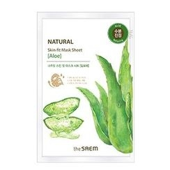 The Saem - Natural Skin Fit Mask Sheet (Aloe) 1pc