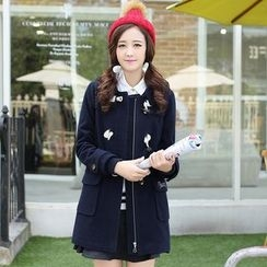 Meadowy - Toggle Wool Coat