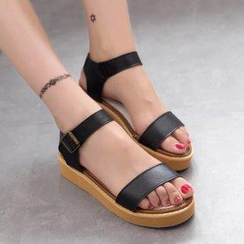 Sunsteps - Ankle-Strap Platform Sandals