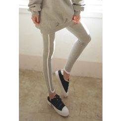 REDOPIN - Contrast-Trim Leggings