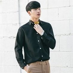 STYLEMAN - Colored Long-Sleeve Dress Shirt