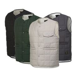 Seoul Homme - Button-Front Padded Vest