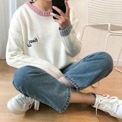 HotBlock - Color Block Thick Sweater