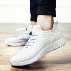 MARTUCCI - Lace-Up Athlete Sneakers