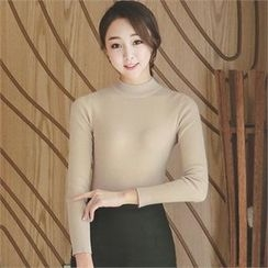 ode' - Crew-Neck Knit Top