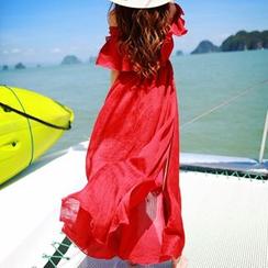 Dabuwawa - Off-Shoulder Maxi Dress