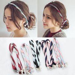 Gioia - 珍珠双色发箍