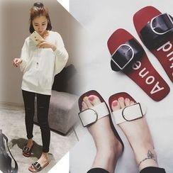 BAYO - Strapped Slide Sandals
