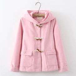 Aigan - Hooded Toggle Coat