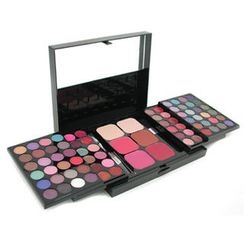 Cameleon - MakeUp Kit 396 (48x Eyeshadow, 24x Lip Color, 2x Pressed Powder, 4x Blusher, 5x Applicator)