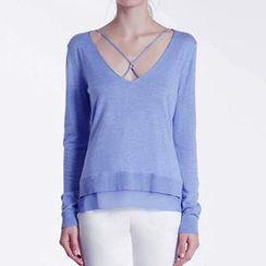 Obel - Cross Strap Front Sweater