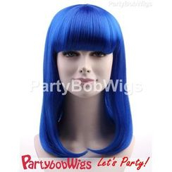 Party Wigs - PartyBobWigs - 派对BOB款长假发 - 蓝色