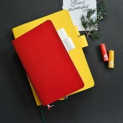 OH.LEELY - A5 / B6 Leather Cover Notebook