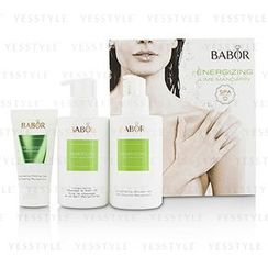 BABOR - SPA Energizing Lime Mandarin Coffret: Shower Gel 200ml + Massage and Bath Oil 200ml + Peeling Gel 50ml