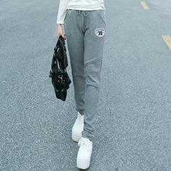 Lina - Applique Sweatpants