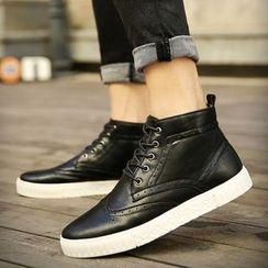 Chariot - 翼纹系带鞋