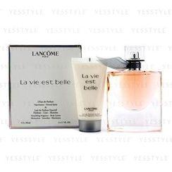 Lancome 兰蔲 - 美丽人生香水套装 : 淡香精 + 身体乳液