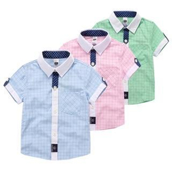 Seashells Kids - Kids Check Shirt