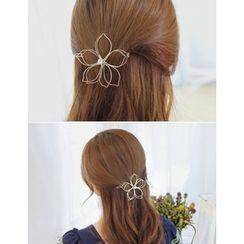 soo n soo - Flower Metal Frame Hair Pin