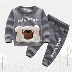 Endymion - Baby Set: Cartoon Sweatshirt + Sweatpants