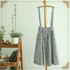 Softies - Striped Printed Jumper Skirt