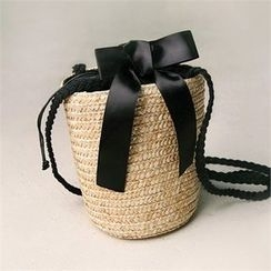 Wifky - Rattan Bucket Bag